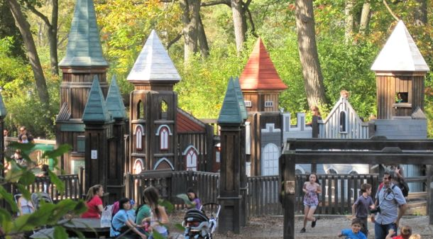 Activities to do with kids High Park Adventure Playground