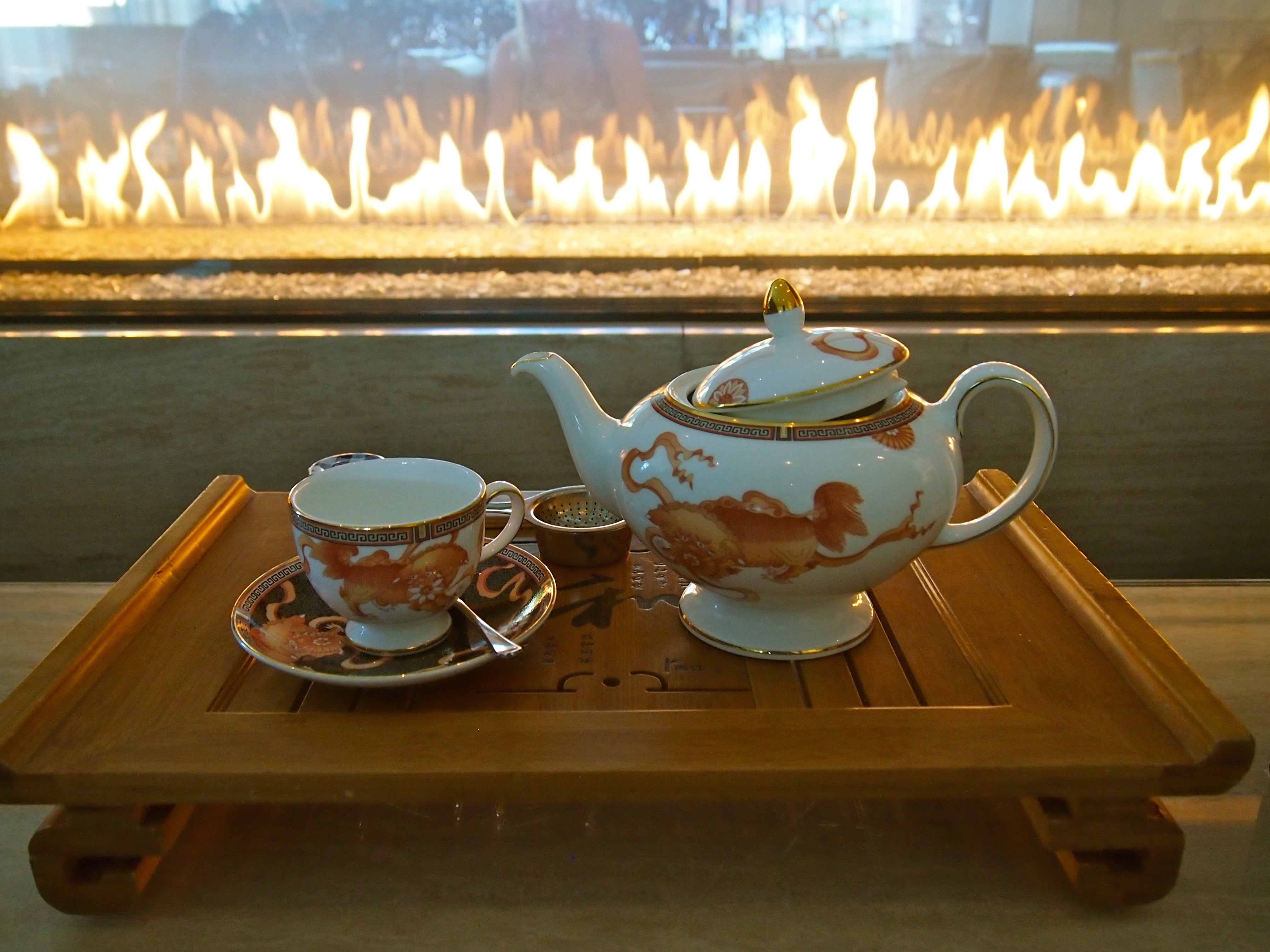 Tea Room at Shangri-La Toronto hotel